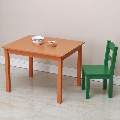 Table set for and Study Table Activity