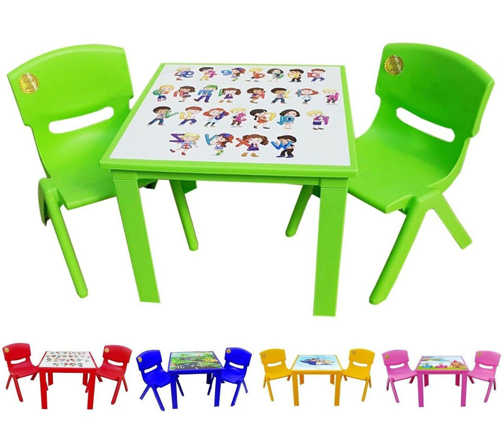 Table and Chairs set for Children and Activity