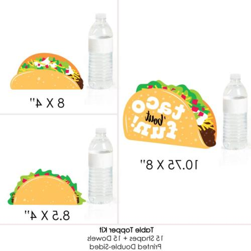 Big Dot of Happiness Taco 'Bout Mexican Centerpiece - Table