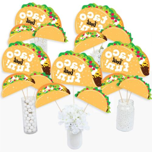 Big Dot of Happiness Taco 'Bout Fun - Mexican Fiesta Cente