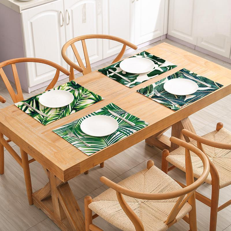 Elife Plant Linen Family <font><b>Kitchen</b></font> Decoration Coffee Hotel Tablecloth