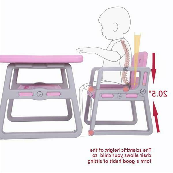 Toddlers Activity Chair Kids Table and for Lego