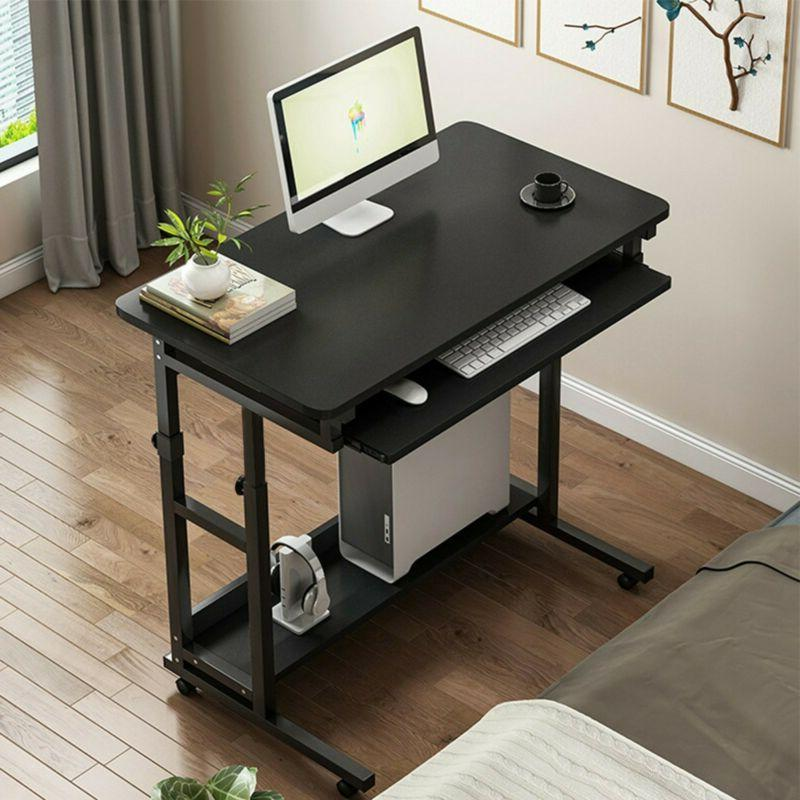 Wood Desk Study PC Workstation Home US