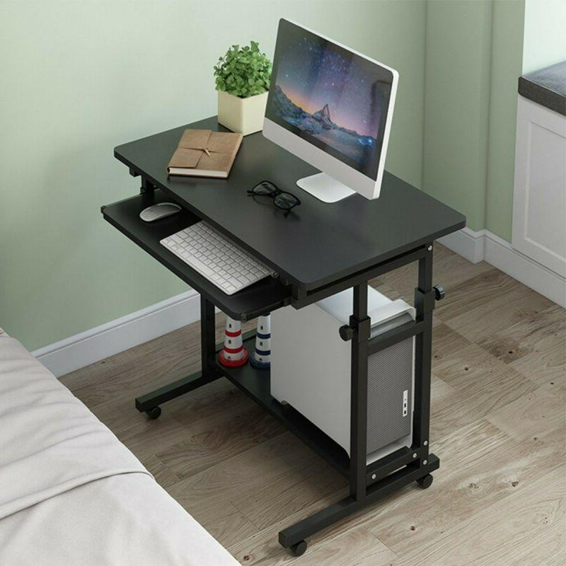 Wood Desk Study PC Table Workstation US