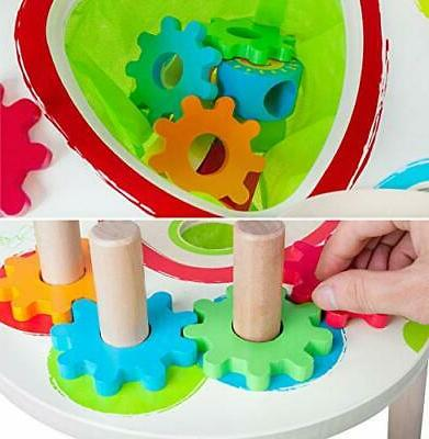 Wooden Activity with Beads Toddlers