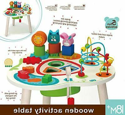Wooden Activity with Bead Beads Wire for