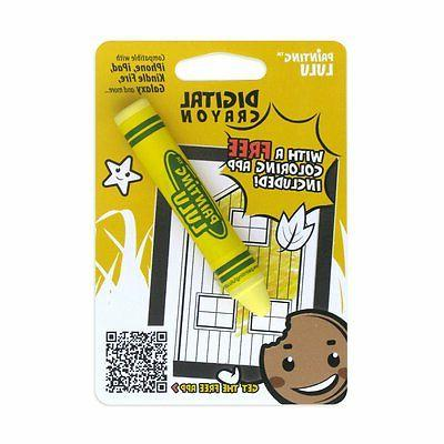 yellow crayon kids stylus for tablets