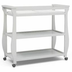 Delta Children Lancaster Changing Table, Bianca White