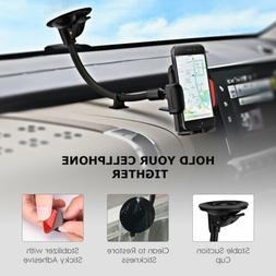 Mpow Long Arm Car Windshield Phone Mount Holder For iPhone S