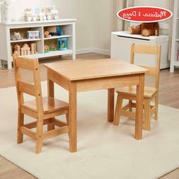 Melissa And Doug Kids Chair Table Furniture Wood Play For To