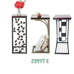 Modern Style Side Small Sofa End Table Narrow Snack Table St