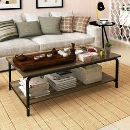 Modern Wood Coffee Table Side/ End Table for Living Room Tea