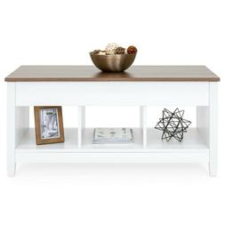 Best Choice Products Multifunctional Modern Coffee Table Des