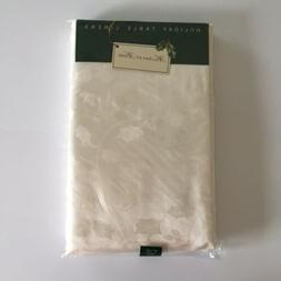 new damask fabric tablecloth holiday home holly