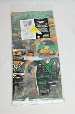 """NEW IN PACKAGE LEGO THE NINJAGO MOVIE TABLE COVER 54"""" X 96"""""""