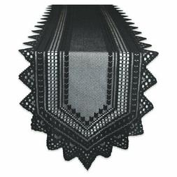 DII Nordic Lace Table Runner