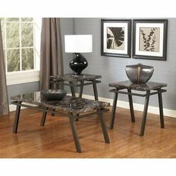 Signature Design by Ashley Paintsville 3 Piece Coffee Table