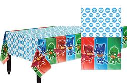 PJ Masks Plastic Table Cover Birthday Party Supplies Decorat