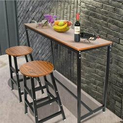 Pub Table Set Bar Stools Dining Home Kitchen Furniture Count