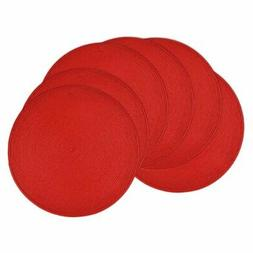 DII Round Woven Placemat - Set of 6