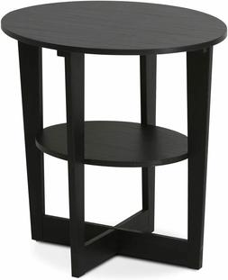 small end table side storage wood living