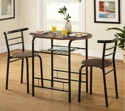Breakfast Table With Stools Tall Kitchen Set for High Pub No