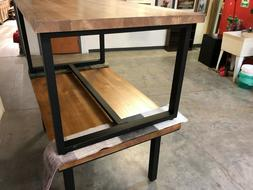solid wood commercial grade dining table, great for restaura