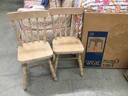 Whittier Wood Products Square Child's Table 263W and set of