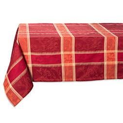 """DII 52x52"""" Square Cotton Tablecloth, Harvest Wheat - Perfect"""