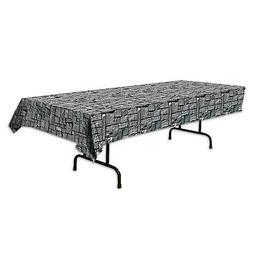 beistle Stone Wall Tablecover