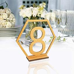 Table Numbers 1-20 for Wedding or Restaurants with Base 20Pa