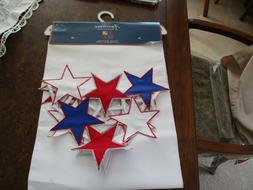Table Runner American Stars And Stripes Patriotic July 4Th F