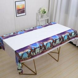 Tablecloth Table Cover Kids For Birthday Party Tableware PLA