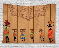 tapestry ancient african girl images wall art