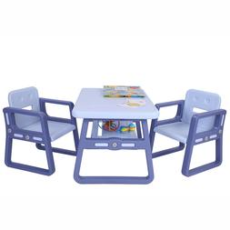 Toddlers Activity Chair Kids Table and Chairs Set for Toddle