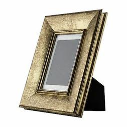 Verandah Table-Top 4x6 Vintage Aged Gold Standing Picture Fr