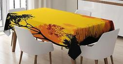 Woodland Tablecloth Ambesonne 3 Sizes Rectangular Table Cove